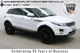 """USED 2012 12 LAND ROVER RANGE ROVER EVOQUE 2.2 SD4 PURE TECH PACK 5d 190 BHP SAT NAV  Finished in Stunning Fuji White Metallic with Black Leather Upholstery, 18"""" Alloy Wheels, Xenon Headlights and Full Land Rover Service History. SAT NAV, Bluetooth, DAB Radio, AUX/USB Inputs, Air Con, Climate Control, Multi Function Steering Wheel, Cruise Control, Electric Mirrors/Windows, Front Rear/Parking Sensors and Upgraded Meridan Sound System."""