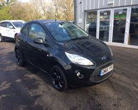 USED 2016 65 FORD KA 1.2 ZETEC BLACK EDITION THIS VEHICLE IS AT SITE 1 - TO VIEW CALL US ON 01903 892224