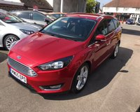 USED 2015 65 FORD FOCUS 1.5 TDCI TITANIUM NAVIGATOR AUTOMATIC 120 BHP THIS VEHICLE IS AT SITE 1 - TO VIEW CALL US ON 01903 892224