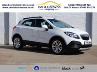 USED 2016 16 VAUXHALL MOKKA 1.6 EXCLUSIV S/S 5d 114 BHP 1 Owner Full Vauxhall History Buy Now, Pay Later Finance!