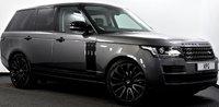 "USED 2017 67 LAND ROVER RANGE ROVER 3.0 TD V6 Vogue 4X4 (s/s) 5dr Black Pack, Pan Roof, 22""s ++"