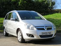 USED 2009 09 VAUXHALL ZAFIRA 1.8 DESIGN 5d 140 BHP FULL SERVICE HISTORY / 7 SEATER