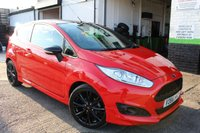 2016 FORD FIESTA 1.0 ST-LINE RED EDITION 3d 139 BHP £10500.00