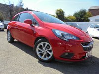 USED 2015 15 VAUXHALL CORSA 1.2 EXCITE AC 3d 69 BHP BLUETOOTH CRUISE CONTROL