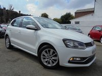 USED 2014 64 VOLKSWAGEN POLO 1.0 SE 5d 60 BHP BLUETOOTH £20 YEARLY ROAD TAX