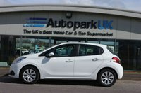 USED 2015 65 PEUGEOT 208 1.0 ACCESS A/C 5d 68 BHP LOW DEPOSIT OR NO DEPOSIT FINANCE AVAILABLE