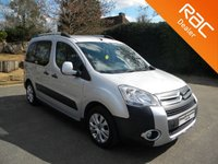 USED 2011 11 CITROEN BERLINGO 1.6 MULTISPACE XTR HDI 5d 91 BHP Wheelchair Accessible Vehicle, Alloy Wheels, Cruise Control