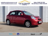 USED 2013 13 NISSAN MICRA 1.2 ACENTA 5d 79 BHP Full Dealer History Air Con Buy Now, Pay Later Finance!