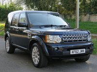2012 LAND ROVER DISCOVERY 3.0 4 SDV6 HSE 5d AUTO 255 BHP £15590.00