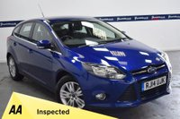 USED 2014 14 FORD FOCUS 2.0 TITANIUM NAVIGATOR TDCI 5d 140 BHP (FULL FORD HISTORY - ONE OWNER)