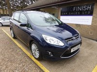 USED 2013 13 FORD GRAND C-MAX 1.6 TITANIUM TDCI 5d 114 BHP