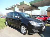 USED 2011 11 VAUXHALL ZAFIRA 1.6 EXCLUSIV 5d 113 BHP 4 SERVICE STAMPS