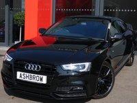 2016 AUDI A5 SPORTBACK 2.0 TDI BLACK EDITION PLUS 5d AUTO 190 S/S £19242.00
