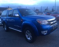 USED 2010 60 FORD RANGER 2.5 THUNDER 4X4 DCB TDCI 1d AUTO 143 BHP
