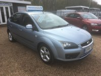 USED 2006 06 FORD FOCUS 1.6 ZETEC CLIMATE 5d 100 BHP FULL SERVICE HISTORY - FINANCE AVAILABLE