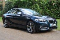 2016 BMW 2 SERIES 1.5 218I SPORT 2d 134 BHP £SOLD