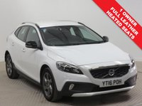 USED 2016 16 VOLVO V40 2.0 D2 CROSS COUNTRY LUX 5d 118 BHP Just had 1 previous owner and comes with Full Service History having been serviced in March 2017, February  2018 and March 2019 and comes with an MOT until 9th March 2020. In addition the car comes with Full Leather interior, Heated Seats, Parking Sensors, Auto Headlights, CD/Dab Radio, Cruise Control, Bluetooth, Air Conditioning, Leather Multi functional Steering Wheel, Electronically folding wing mirrors, alloy wheels, £0 RFL and this car is Euro 6 and is exempt from LEZ charges in London