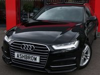 USED 2015 15 AUDI A6 AVANT 2.0 TDI ULTRA S LINE 5d AUTO 190 S/S £30 ROAD TAX, 1 OWNER FROM NEW, FULL AUDI SERVICE HISTORY, NEW SHAPE, SAT NAV, FULL BLACK LEATHER, DAB RADIO, BLUETOOTH PHONE & MUSIC STREAMING, AUDI MUSIC INTERFACE FOR IPOD / USB DEVICES (AMI), FRONT & REAR PARKING SENSORS W/ DISPLAY, LED LIGHTS, HEADLAMP WASHERS, 18 INCH TWIN 5 SPOKE ALLOYS, S LINE BODY KIT, TWIN EXHAUST, ELECTRIC TAILGATE, CRUISE, SPORT SEATS W/ ELECTRIC LUMBAR SUPPORT, LIGHT & RAIN SENSORS WITH AUTO DIMMING REAR VIEW MIRROR, AUTO HOLD, VAT QUALIFYING.