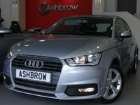 USED 2017 17 AUDI A1 1.0 TFSI SPORT 3d 95 S/S DAB RADIO, BLUETOOTH PHONE & MUSIC STREAMING, AUDI DRIVE SELECT, AUDI MUSIC INTERFACE (AMI), MANUAL 5 SPEED GEARBOX, START STOP TECHNOLOGY, FRONT FOG LIGHTS, 16 INCH 5 SPOKE ALLOYS, GREY TORNADO CLOTH INTERIOR, SPORT SEATS, LEATHER MULTIFUNCTION STEERING WHEEL, AIR CONDITIONING, CD & SD CARD READER, TYRE PRESSURE MONITORING SYSTEM, ELECTRIC WINDOWS, ELECTRIC HEATED DOOR MIRRORS, ISO FIX, FOLDING REAR SEATS, AIRBAGS. 1 OWNER, SERVICE HISTORY, BALANCE OF AUDI WARRANTY, £0 ROAD TAX