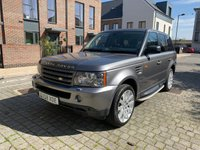 USED 2008 58 LAND ROVER RANGE ROVER SPORT 2.7 TDV6 SPORT HSE 5d AUTO 188 BHP Low Mileage, HSE Spec, Warranty, Finance. NEW MOT