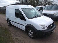 2010 FORD TRANSIT CONNECT 1.8 T230 HR 5d 90 BHP Long wheel base, High roof  £2750.00