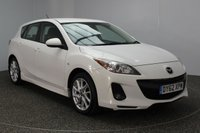 USED 2012 62 MAZDA 3 1.6 TAMURA 5DR 103 BHP MAZDA SERVICE HISTORY + PARKING SENSOR + CLIMATE CONTROL + MULTI FUNCTION WHEEL + XENON HEADLIGHTS + RADIO/CD + ELECTRIC WINDOWS + ELECTRIC MIRRORS + 17 INCH ALLOY WHEELS