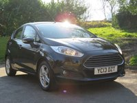 USED 2013 13 FORD FIESTA 1.2 ZETEC 5d 81 BHP PARKING SENSORS & HEATED FRONT WINDSCREEN