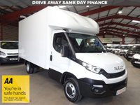 """USED 2016 16 IVECO DAILY 2.3 35C13 126 BHP LWB LUTON BIG BODY VAN WITH TAIL LIFT """"YOU'RE IN SAFE HANDS"""" - AA DEALER PROMISE"""