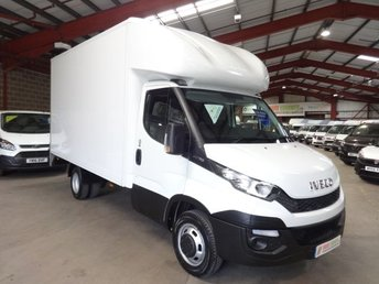 2016 IVECO DAILY 2.3 35C13 126 BHP LWB LUTON BIG BODY VAN WITH TAIL LIFT £12995.00