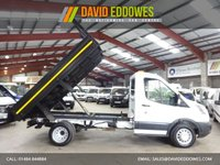 USED 2016 16 FORD TRANSIT 2.2 350  DRW 125 BHP TWIN WHEEL TIPPER / DROPSIDE '' YOU'RE IN SAFE HANDS  ''  WITH THE AA DEALER PROMISE