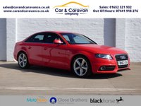 USED 2010 60 AUDI A4 2.0 TDI S LINE 4d 141 BHP Full Service History New Belt Buy Now, Pay Later Finance!