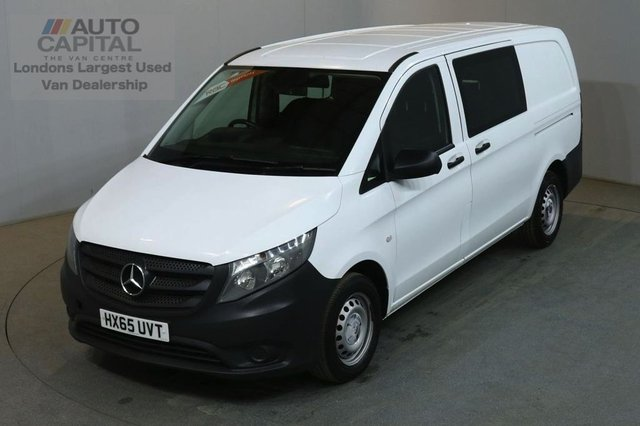 2015 65 MERCEDES-BENZ VITO 1.6 111 CDI 114 BHP LWB COMBI CREW 6 SEATER AIR CON AIR CONDITIONING LOW MILEAGE