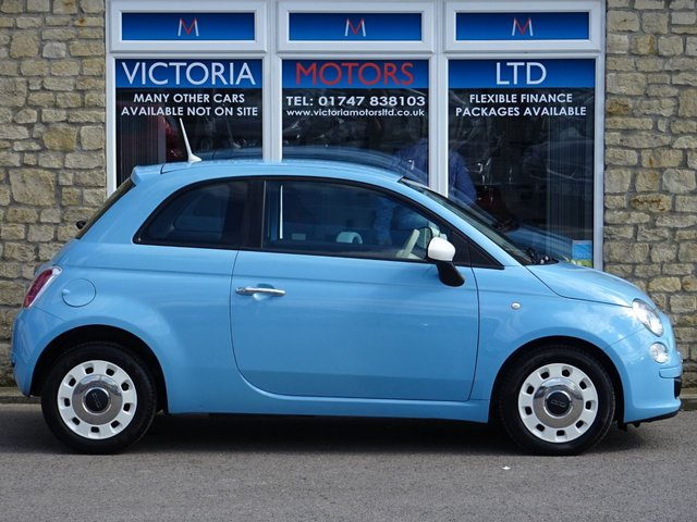 FIAT 500 at Victoria Motors Ltd