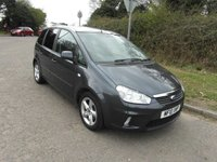 USED 2010 10 FORD C-MAX 1.6 16v 100 Zetec Petrol 2 owners from new. Low mileage.