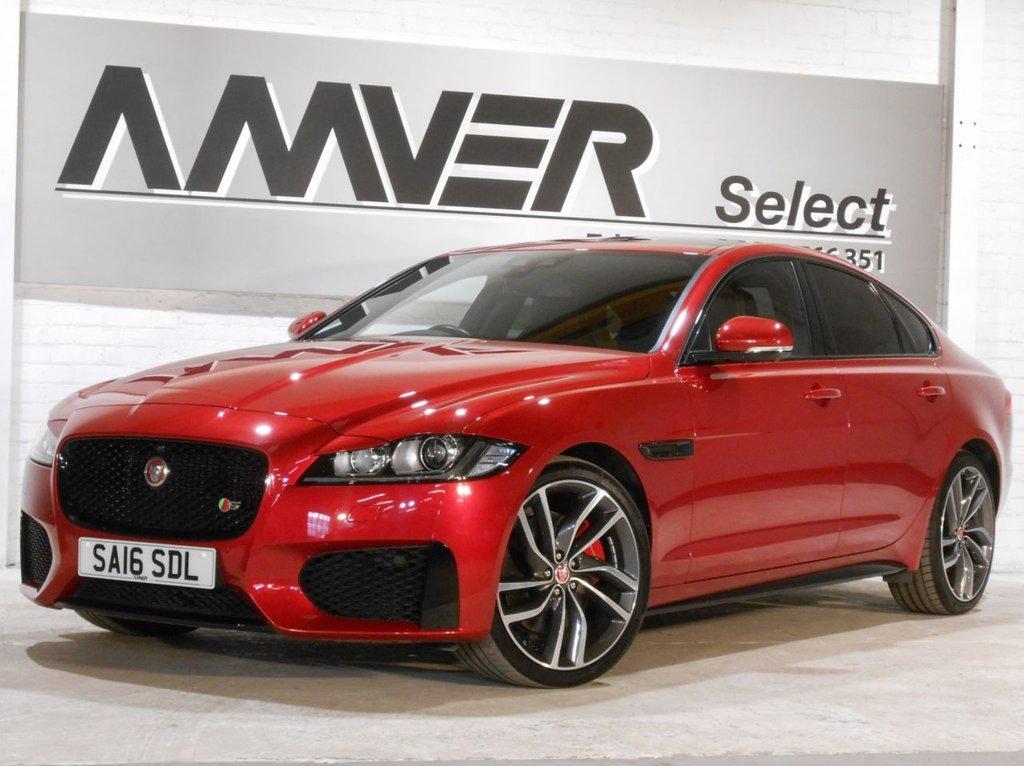 USED 2016 16 JAGUAR XF 3.0 V6 S 4d AUTO 296 BHP