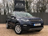 USED 2016 16 LAND ROVER DISCOVERY SPORT 2.0 TD4 SE TECH 5dr 7 SEATS 1 Year Parts & Labour Warranty