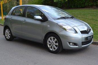 2011 TOYOTA YARIS 1.3 T SPIRIT VVT-I 5d 99 BHP £4295.00
