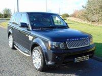 USED 2011 61 LAND ROVER RANGE ROVER SPORT 3.0 SDV6 HSE 5d AUTO 255 BHP SAT NAV, 8 SPEED AUTO, LEATHER