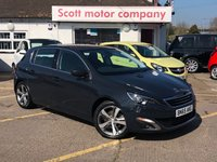 USED 2015 65 PEUGEOT 308 2.0 Blue HDi Allure 5 door
