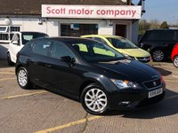 USED 2014 14 SEAT LEON 1.2 TSI SE 5 door