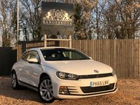 USED 2015 65 VOLKSWAGEN SCIROCCO 2.0 TDI BLUEMOTION TECHNOLOGY 2dr 1 Year Parts & Labour Warranty