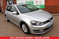 USED 2014 64 VOLKSWAGEN GOLF 1.6 BLUEMOTION TDI 5d 108 BHP +ONE OWNER +SERVICED +LOW TAX