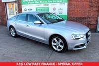 USED 2015 15 AUDI A5 2.0 SPORTBACK TDI SE S/S 5d AUTO 148 BHP +AUTO +HEATED LEATHER +SENSORS
