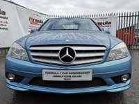 USED 2009 59 MERCEDES-BENZ C-CLASS 2.1 C220 CDI BlueEFFICIENCY Sport 4dr BLUE EFFICIENCY+LEATHER+AIRCON