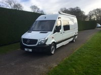 2015 MERCEDES-BENZ SPRINTER 313 CDI XLWB * Mobile Exhibition Unit / Office * 6000 Miles * £24950.00