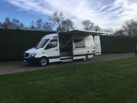 USED 2015 65 MERCEDES-BENZ SPRINTER 313 CDI XLWB * Mobile Exhibition Unit / Office * 6000 Miles *