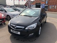 USED 2011 11 VAUXHALL ASTRA 1.4 EXCLUSIV 5d 98 BHP *** ONLY 55,000 MILES *** PAYMENTS LOW AS £82 A MONTH! ***