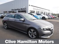 USED 2018 MERCEDES-BENZ CLA 2.1 CLA 200 D SPORT TOURER,134 BHP SHOOTING BRAKE