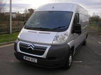 2014 CITROEN RELAY 2.2 35 L3H2 HDI 129 BHP Van - NO VAT £9495.00