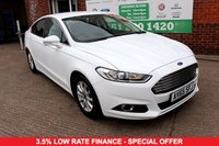USED 2015 65 FORD MONDEO 2.0 ZETEC ECONETIC TDCI 5d 148 BHP +ONE OWNER +LOW ROAD TAX +FSH.